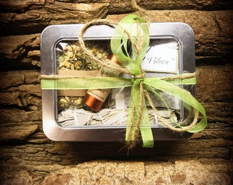 Uplifting Gift - Encouragement Gift - Green Ribbon Box