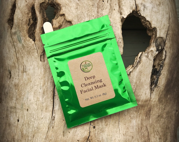 Deep Cleansing Facial Mask - Acne Face Mask