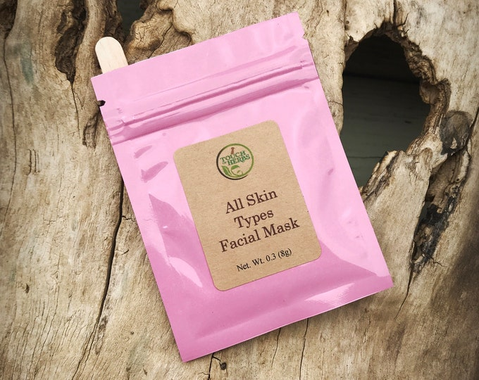 All Skin Types Facial Mask - Organic Facial Mask