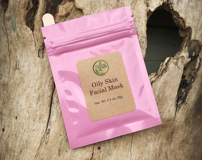 Oily Skin Facial Mask - Herbal Facial Mask for Oily Skin