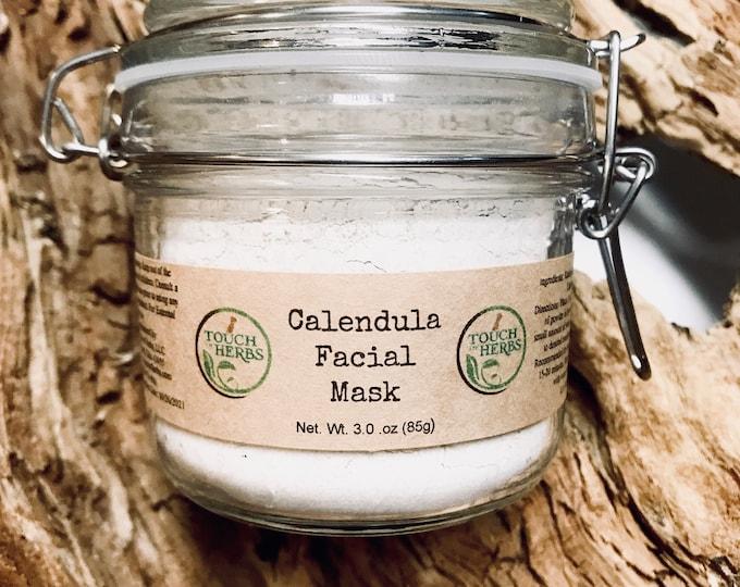 Calendula Facial Mask Jar