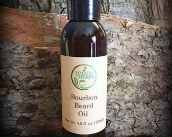 Beard oil. Bourbon gifts . beard gifts.  Beard care. Gift for him . beard softener . gift for man . gift for dad . gift for biker . bourbon