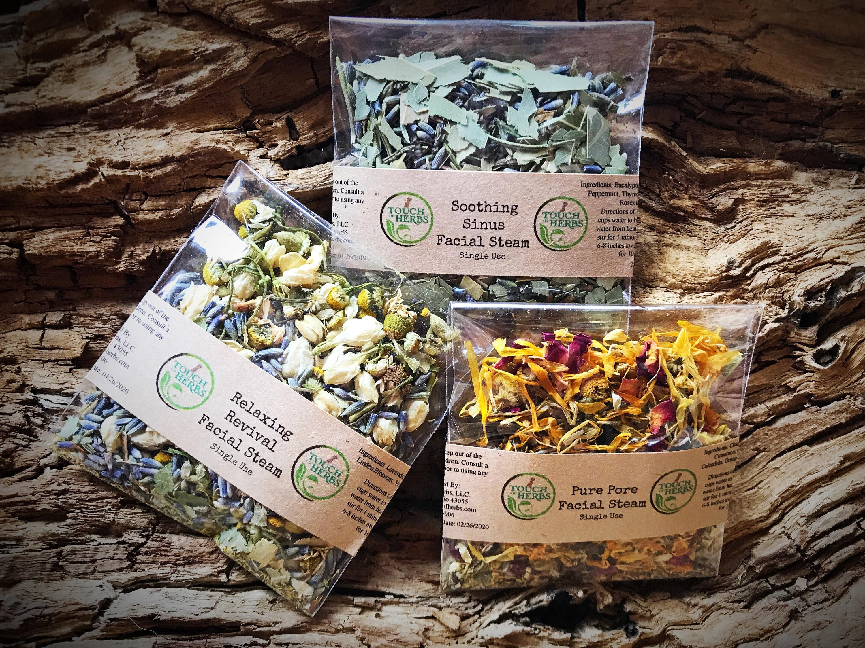 Best Steam Skins 2020 Herbal Facial Steam Best Herbal Face Steam Set Botanical | Etsy