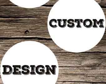 Maria - Custom Design Order Request Graphic Design DIY Printable Digital Download