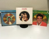 Elvis Presley - Lot of 3 LPs - Elvis 39 Gold Records 3 and 4 - Legendary Performer vol 1 - 60s 70s