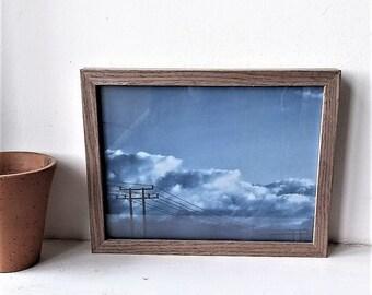 A,  Cloud Print, Sky poster, Clouds, Poster,Scandi print, Sky print