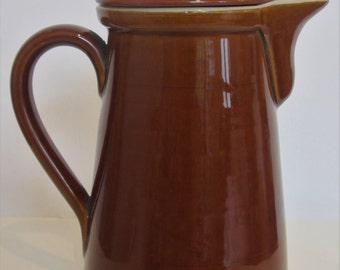 1950's Denby Stoneware Coffee Pot