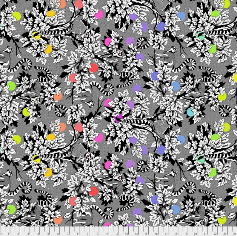 Free Spirit *Each Sold by the Yard* Linework Cotton Fabrics by Tula Pink