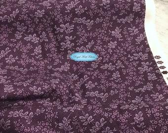 Moda Fabrics - Puzzle Pieces - Leaves Berries Purple by Moda Classic