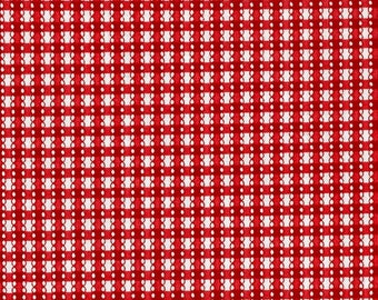 Benartex - Simply Chic - Gingham Red by Anna Stuart