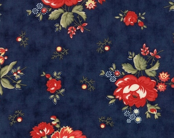 Moda Fabrics - Anns Arbor - Floral Chintz by Minick and Simpson