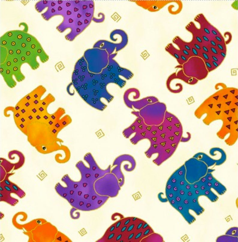 99d16b50c3f65 Clothworks - Mythical Jungle Light Cream Metallic - *Sold by 1/2 Yard  Continuous Increments*