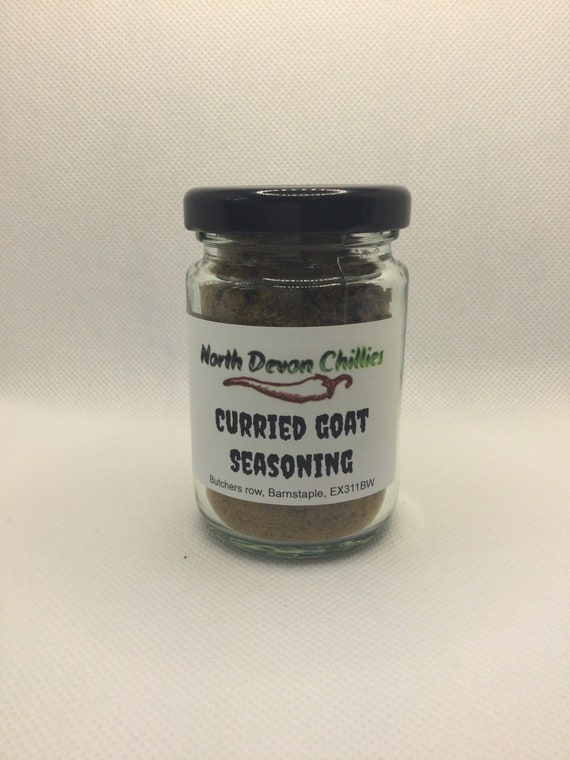Curried goat seasoning, Caribbean curry powder.