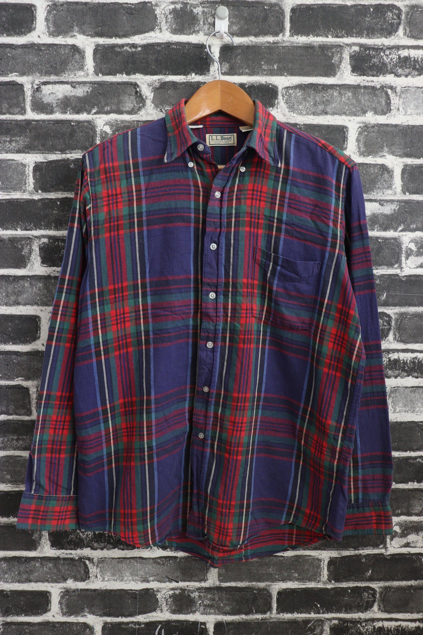 25801ca839 Ll Bean Scotch Plaid Flannel Shirt Womens | Top Mode Depot