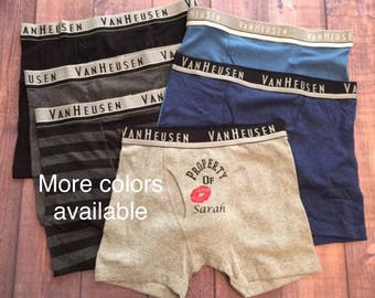 more colors personalized boxers boyfriend gift