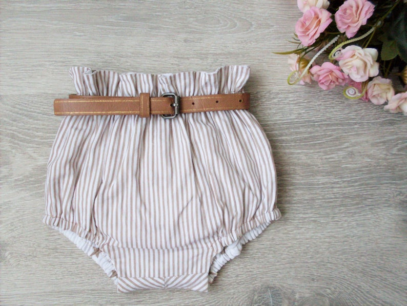 Baby Toddler Bloomers pattern High Waisted Bloomer PDF image 5
