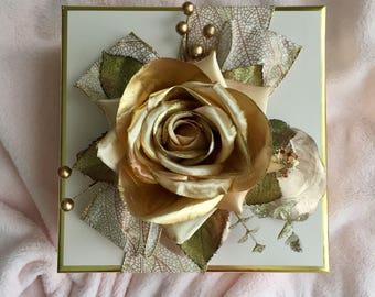 Blush Rose Decorative Box