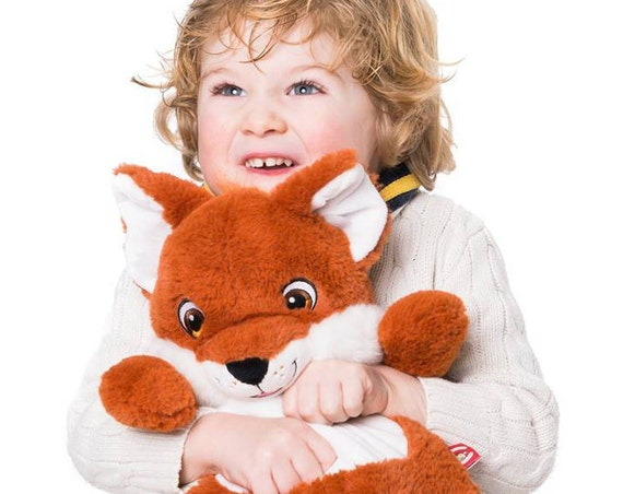 Cubbies Signature Range Fox, Teddy bear, custom bears, embroidered teddy, baby gift, personalised teddy, Fox