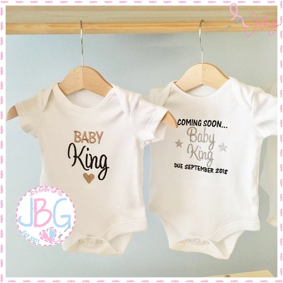 PERSONALISED BABY VEST GROW CHRISTENING BODYSUIT YOUR TEXT NEWBORN GIFT HEART