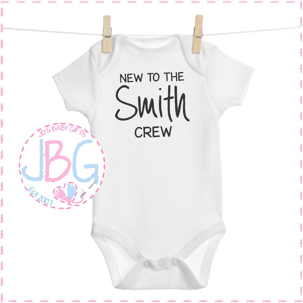 Pregnancy Announcement Unisex Baby Shower Personalised Embroidered Baby Vest