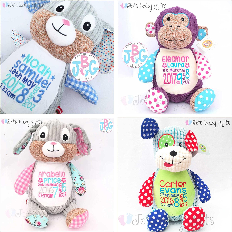 Personalised teddy bear cubby teddy bear embroidered baby teddy personalised teddy bear cubby teddy bear embroidered baby teddy new baby gift harlequin cubbies personalised teddy bears negle Images