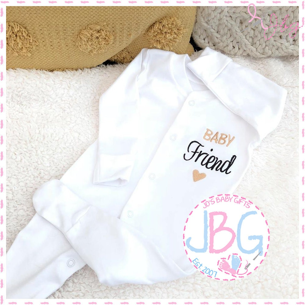 Awesome Baby Funny Baby Vest Grow Christening Bodysuit Personalised Baby gift