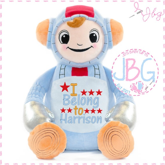 Cubbies Astronaut, Personalised Embroidered Astronaut Teddy Bear, Personalised Stuffie, Great birthday gift, Signature Range