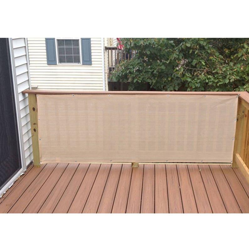 Custom Sized Elegant Privacy Screen Backyard Deck Patio Etsy