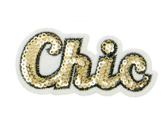 Free Shipping! Chic Embroidered Iron-On Patch, Embroidery Applique