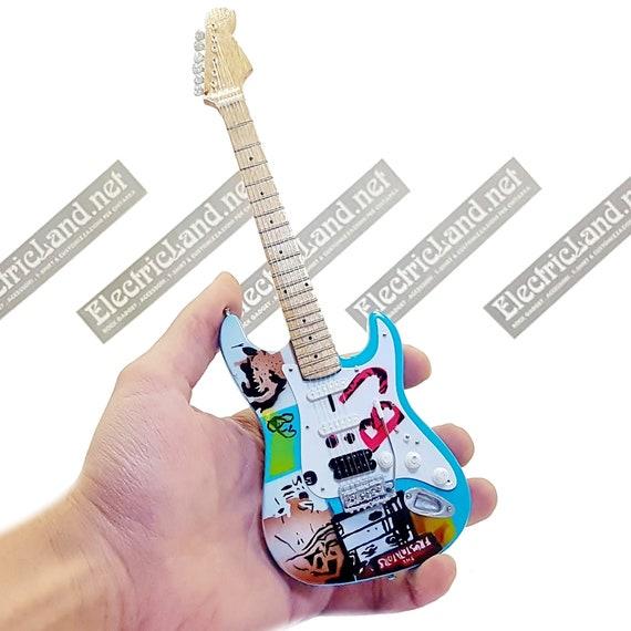 Mini Gitarre Billie Joe Armstrong Grün Tag Miniatur Etsy