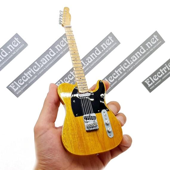 Bruce Springsteen Guitare miniature Fender Telecaster butterscotch blonde