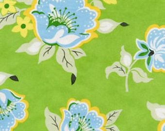 HB20 Green by Free Spirit Heather Bailey Nicey Jane - Church Flowers