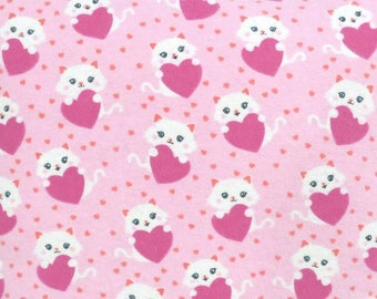 Cat Lovers Heart Quillow! Super Cute!