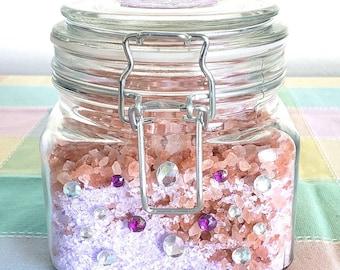 Bath Salts in a Jar!