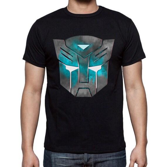 Transformers Autobots T Shirt Autobots Symbol Movie T Shirt Etsy