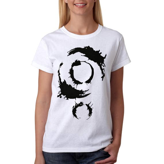 Arrival Movie T Shirt Alien Ink Print Symbols Tee Heptapod Etsy