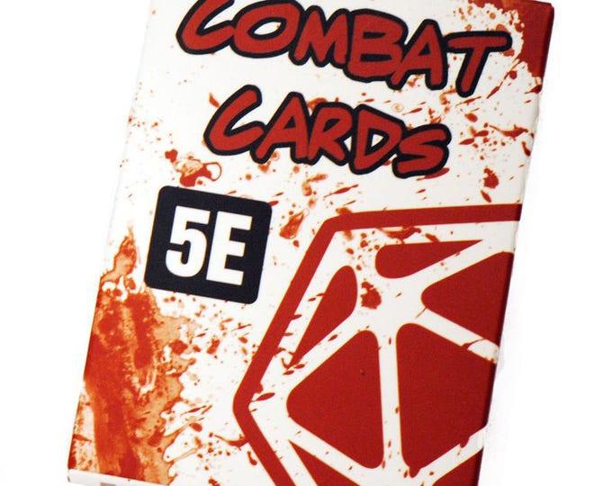 DnD 5e Combat Cards