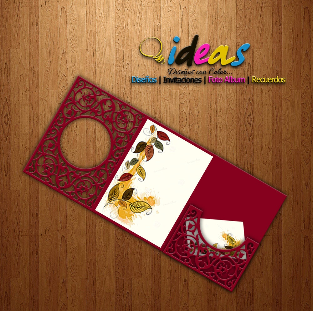 Invitation Wedding Card invitation XV Años wedding | Etsy