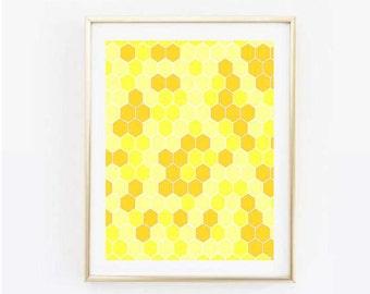 Beehive Print
