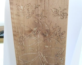 Beautiful Engraved Wood Picture