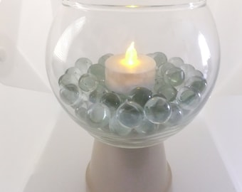 Fish Bowl Candle Holder