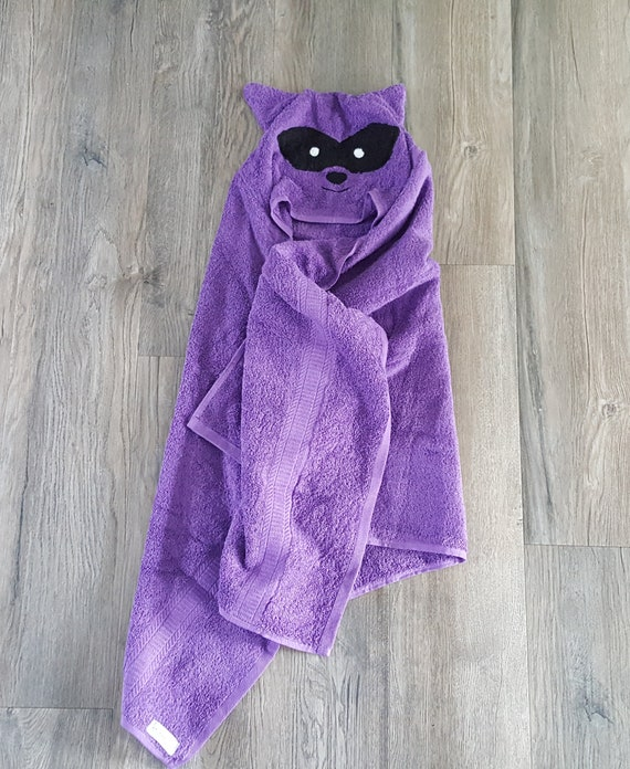 Personalisierte Tier Handtuchwaschbär Handtuchwaschbär Etsy