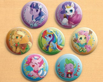Grand Galoping Gala (MLP) 【BUTTON 58mm】