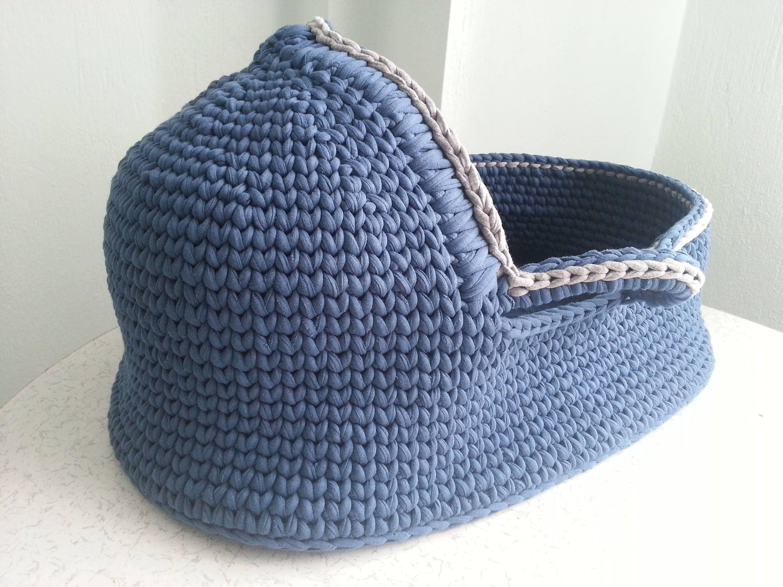 Crochet Pattern Baby Moses Basket Baby crochet pattern Crochet baby ...