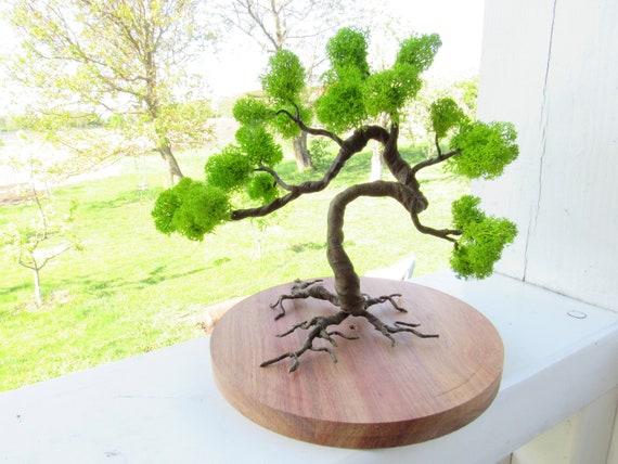 Artificial bonsai tree Fairy garden Indoor terrarium
