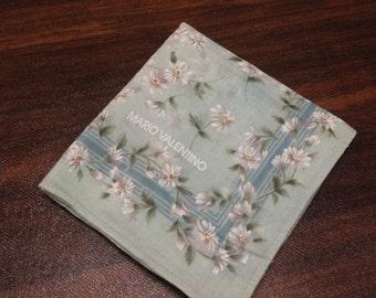 Mario Valentino Handkerchief Cotton Mario Valentino Hanky