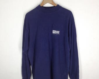 Perry Ellis// long sleeved t- shirt/ 100% cotton
