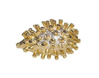 VINTAGE - Hedgehog brooch