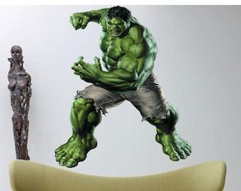 Hulk Full Color Decal, Hulk Full Color Sticker, Hulk wall art cn 161