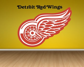 Detroit Red Wings Logo Wall Decal 5982061b57
